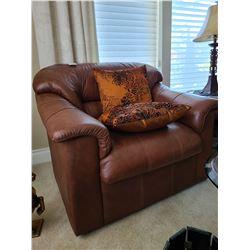 Leather Armchair C