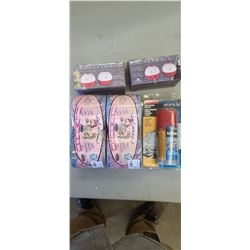 NORTH 49 AIR HORN REFILL PINK CAMO TOILET PAPER, SALT AND PEPPER SHAKER (FISH BOBBLE)