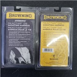BROWNING RECTOR G2 SHOOTING HARNESS QTY 2
