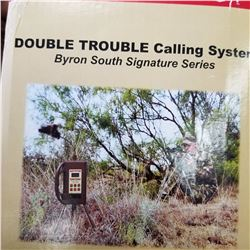 BYRON SOUTH - MOJO OUTDOORS - DOUBLE TROUBLE CALLING SYSTEM