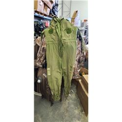ARMY SURPLUS CRATE - ROUGHLY 20 JUMPSUITS AND OTHER MISC