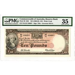 Reserve Bank of Australia, ND (1960-65) Banknote.
