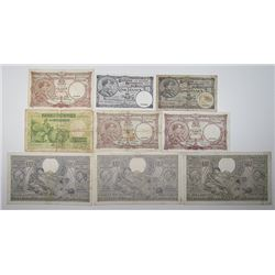 Banque Nationale de Belgique. 1932-1974. Lot of 36 Issued Notes.