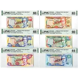 Bermuda Monetary Authority, 2000 Specimen Banknote Group.