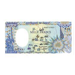 Banque des Etats de l'Afrique Centrale. 1992. Issued Note.