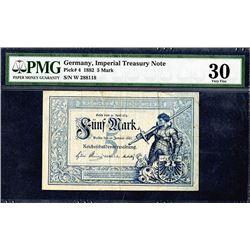 Reichskassenschein. 1882. Issued Note.