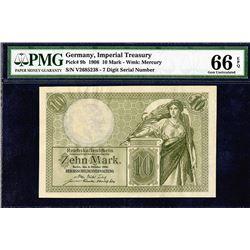 Reichskassenschein. 1906. Issued Note.