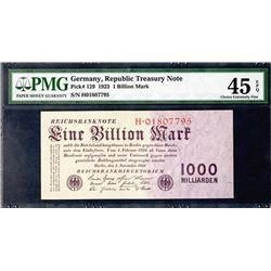 Reichsbankdirektorium. 1923. Issued Note.