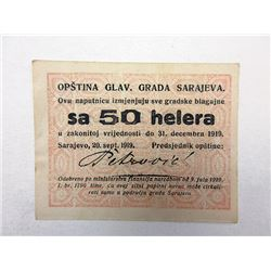 Langensalza. 1921. Notgeld Lot of 6 Issued Notes.