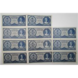 Magyar Nemzeti Bank and Other Issuers. 1852-1980. Lot of 57 Issued Notes.