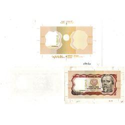 Banco Central de Reserva del Peru. ND (1982). Lot of 3 Proof Notes.