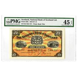 National Bank of Scotland Limited. 1954. Issued Note.