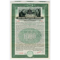 New York Telephone Co., 1909 Specimen Bond