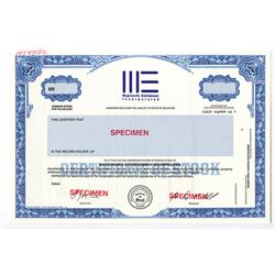 Magicworks Entertainment Inc. Specimen Stock Certificate