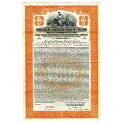Industrial Mortgage Bank of Finland, 1924 Specimen Bond