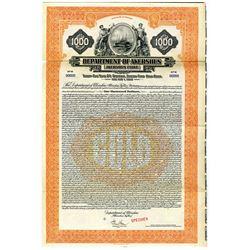 Department of Akershus 1928 Specimen Bond