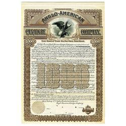 Anglo-American Canaigre Co., 1897 Specimen Bond