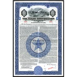 Texas Corporation - TEXACO. 1940 Specimen Bond