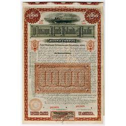 Chicago, Rock Island and Pacific Railway Co., 1884 Specimen Bond