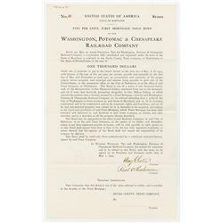 Washington, Potomac & Chesapeake Railroad Co., 1904 I/U Bond