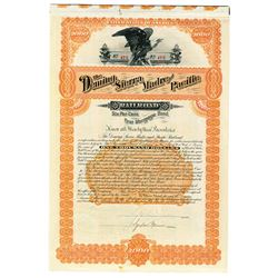 Deming, Sierra Madre and Pacific Railroad 1889 I/U Bond