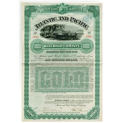 Atlantic and Pacific Railroad Co., 1887 I/U Bond