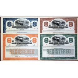 Cleveland, Cincinnati, Chicago and St. Louis Railway Co. 1927 Bond Quartet