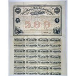 Scioto and Hocking Valley Rail Road Co., 1856 I/U Bond