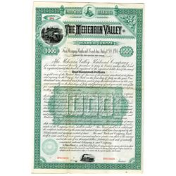 Meherrin Valley Railroad Co. 1884 Specimen Bond Rarity