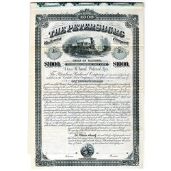Petersburg Railroad Co. 1881 Specimen Bond