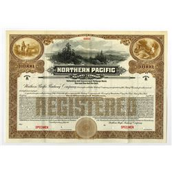 Northern Pacific Railway Co., 1914 Specimen Bond