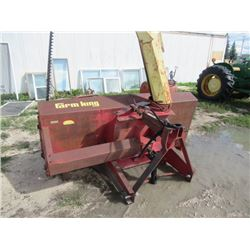 """Farm King Mdl 960 2 Stage 3PH 96"""" Snow Blower w Hyd Chute, S# 805901 - Have PTO Shaft - Thor Magnuss"""