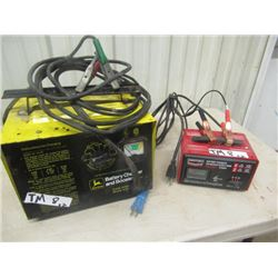 JD Battery Charger/Booster & Century 6/12 Volt Charger