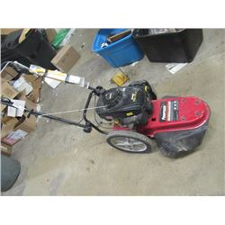 """Power Mate 6.25 HP 22"""" Cut Power Trimmer Runs Good, Could use a Tune Up, Clean Carb & Fresh Spark Pl"""