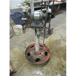 Rockwell 1/3 HP Bench Grinder on Solid Stand