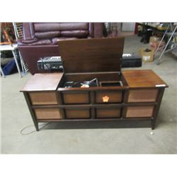 """(DL) Electrohome Cabinet Stereo 25""""H 60""""W 18""""D"""