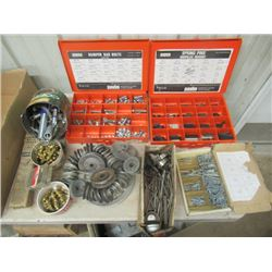 Papco Spring Pin Kit, Papco Bumper Bolt Kit, Pulleys, Springs, Brass Connectos, Cotter Pins, & Carde