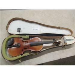 Violin in Wood Case- Vintage