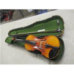 Violin in Case- Vintage