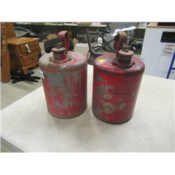 Coleman Fuel Cans