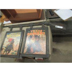 """Metal Framed Western Movie Display 22""""H 40""""W"""