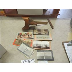 Vintage- Stereo Scope w Photos