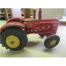 Vintage Massey Harris 1/4 Die Cast Toy