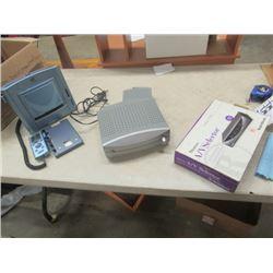 Photo Printer, Radio Shack Program Selector, Digital Wireless Audio Reveiver