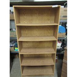 """2 Open Book Shelves 64"""" H 32""""W 12""""D"""