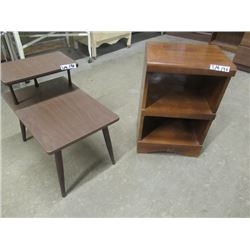 """Night Stand 25""""H 18""""W 13"""" D Stepback End Table"""