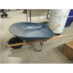 (EC) Rubber Tired Wheel Barrel