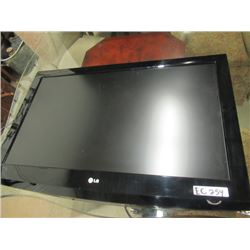 "(EC) LG 40"" Flat Screen TV w Remote"