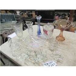 Irish Herringbone Vase, Crystal & Cut Glass - Both Vintage & Modern