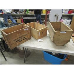 2 Crates, & Fitted Crate